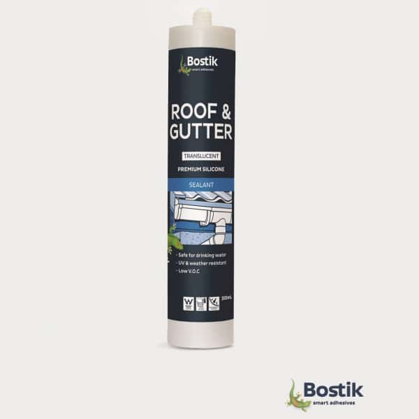 Bostik Roof and Gutter Premium Silicone - Bostik Roof and Gutter Silicone