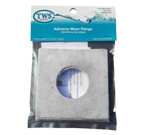 Adhesive Flange Mixer Round Pkt 10 - Adhesive Flange Mixer Round Pkt 10