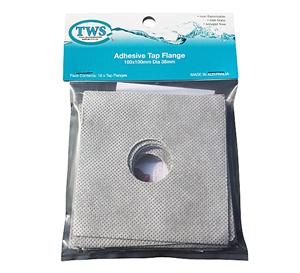 Adhesive Flange Tap Pkt 10 - Adhesive Flange Tap Pkt 10