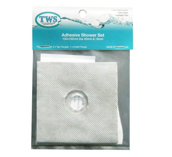Adhesive Flange Shower Set - Adhesive Flange Shower Set