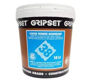 Gripset 38 Laytex Membrane Grey - Elastoproof Blind Collar Medium
