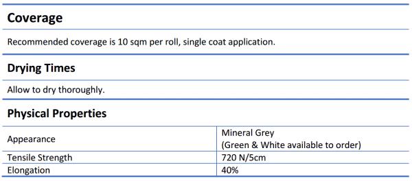 Ardex WPM 185 8m Roll - Ardex WPM 185