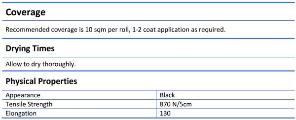 Ardex WPM 150 1m x10m Roll - Ardex WPM 150