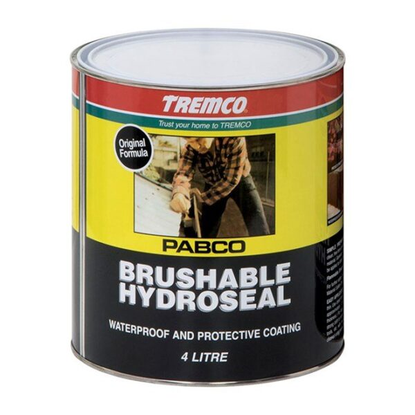 Tremco Brushable Hydroseal 1L, 4L or 20L - Tremco Brushable Hydroseal