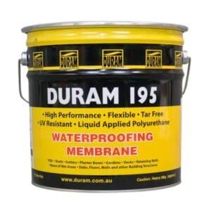 duram 195 waterproofing membrane