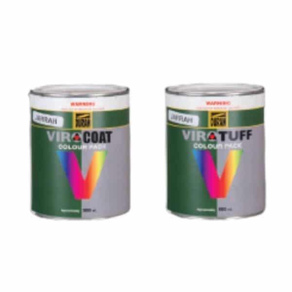 duram virocoat and virotuff colour packs
