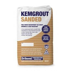 kemgrout-sanded