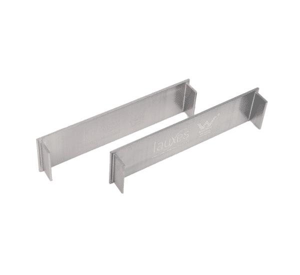Aluminium Grate End Caps - Silver - Aluminium Grate End Caps