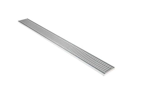 Aluminium NXT14 Grate 100mm x 1200mm Custom Made at No Extra Cost - Lauxes Aluminium NXT14 Grate 1200mm