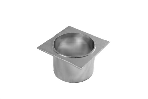 Aluminium Pop Waste 50mm - Silver/Black - Aluminium Pop Waste 50mm
