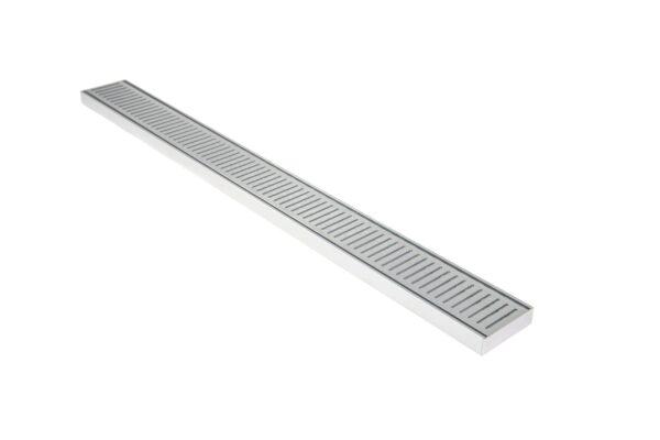 Aluminium NXT26 Grate 100mm x 5.6m - Lauxes Aluminium NXT26 Grate 5.6m