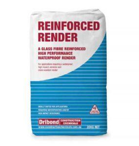 reinforced render