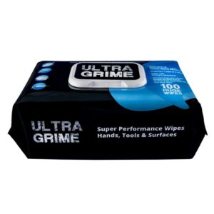 Ultra Grime Industrial Wipes - 100pk - Ultra Grim Wipes